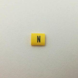 oznacznik kabli i przewodów, symbol N,