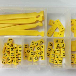 oznaczniki kablowe elektryczne, symbole