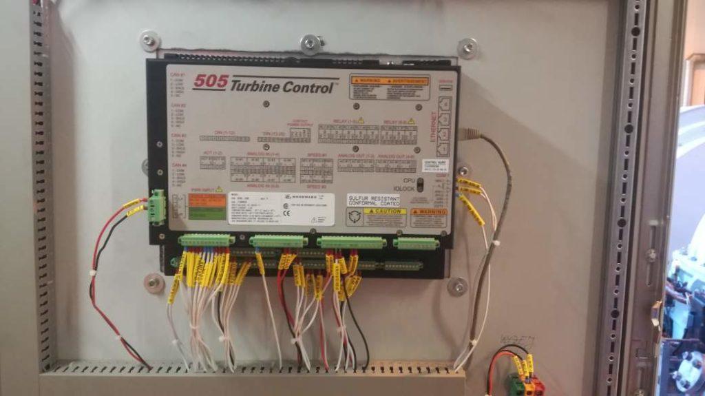 Regulator woodward 505 new, 505E new, Tył woodward, jak podłączyć sterownik PLC