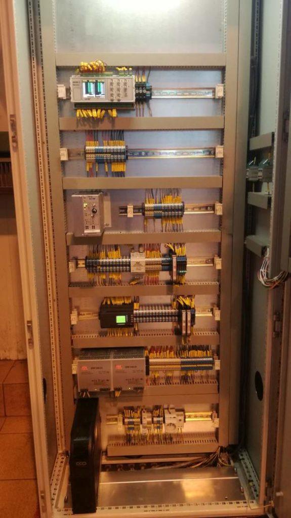 rozdzielnica prądu 230 V, 24VDC