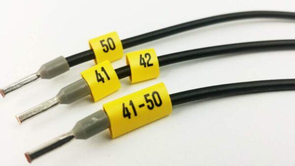 Zestaw oznaczników kabli i przewodów w pudełku, oznaczniki kabli, znaczniki, znaczniki kabli, oznaczniki przewodów, wire markers, markers, partex, ergom, oznaczenia szaf, rozdzielnice, oznaczanie kabli, oznaczenia przewodów, naklejki na kable, zestaw oznaczników, oznakowania kabli, oznakowania, cable marker, cable