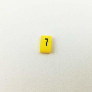 Oznacznik kabli i przewodów OZ cyfra 7
