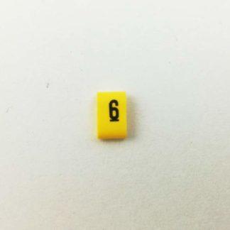 Oznacznik kabli i przewodów OZ cyfra 6