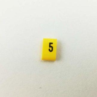 Oznacznik kabli i przewodów OZ cyfra 5