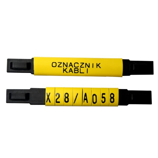 oznaczniki kablowe montowane opaską zaciskową