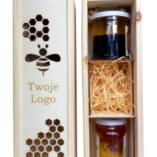 skrzynka na miód; grawerowana skrzynka na miód, pudełko na miody; honey boxes;