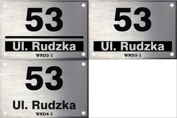 Numer na dom wzory